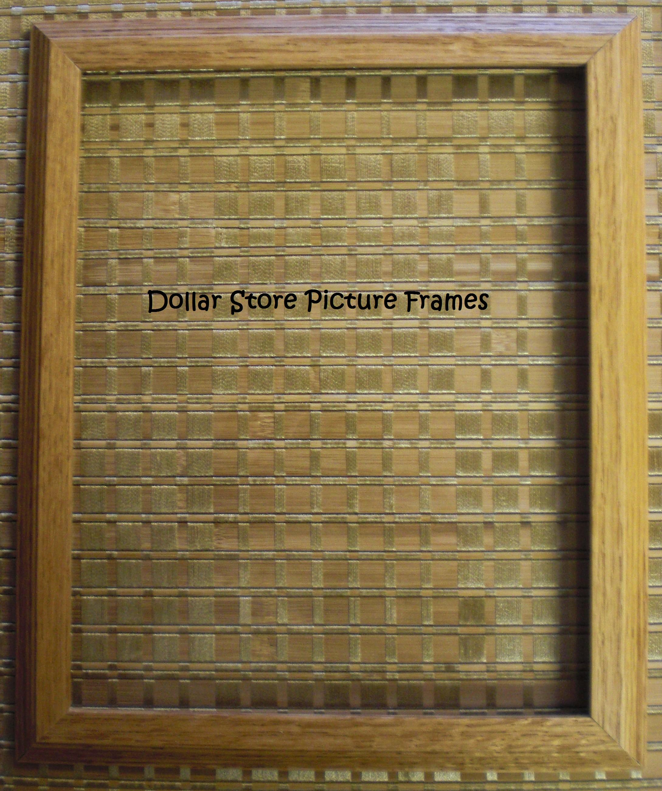 How-To: Revamping Dollar Store picture frames | All That Glitters